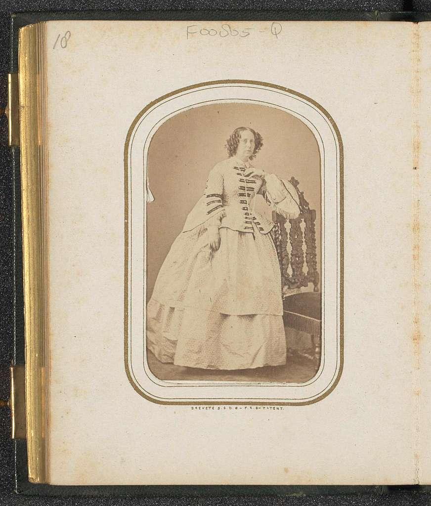 Portret van Sophia van Württemberg ('Sophie'), koningin der Nederlanden