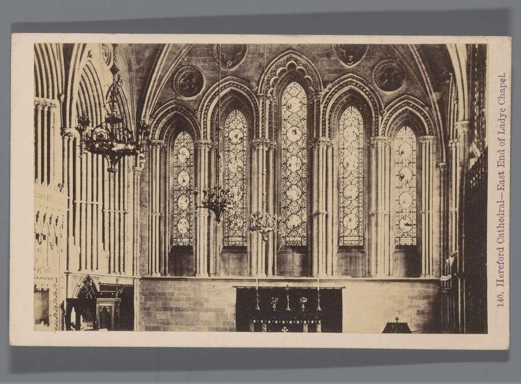 Lady Chapel in de kathedraal van Hereford