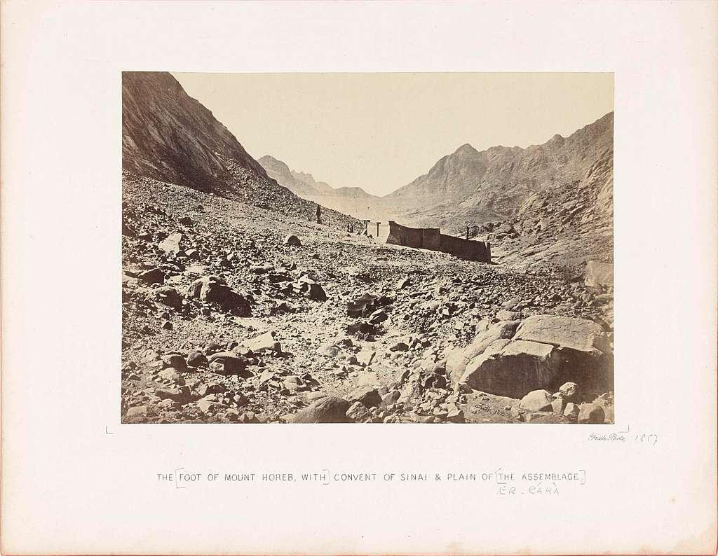 Sinaï-klooster op de berg Horeb