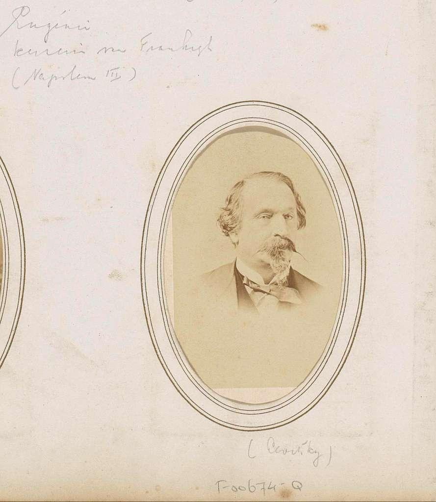 Portret van Napoleon III, keizer van Frankrijk
