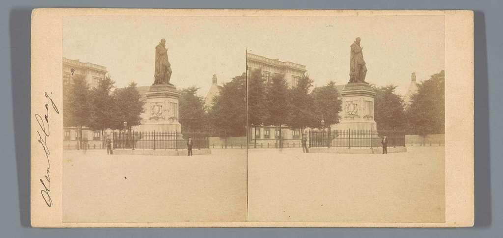 Standbeeld van Willem van Oranje op het Plein, Den Haag