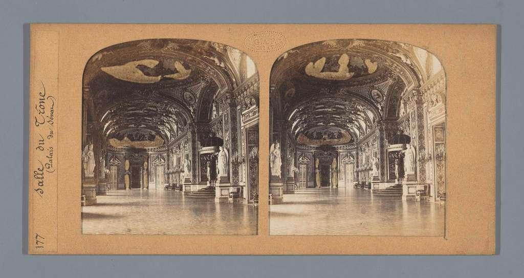 Troonzaal in het Palais du Luxembourg, Parijs