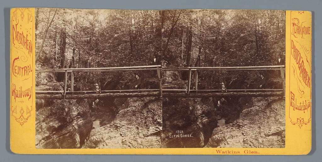 Elfin Gorge in Watkins Glen State Park