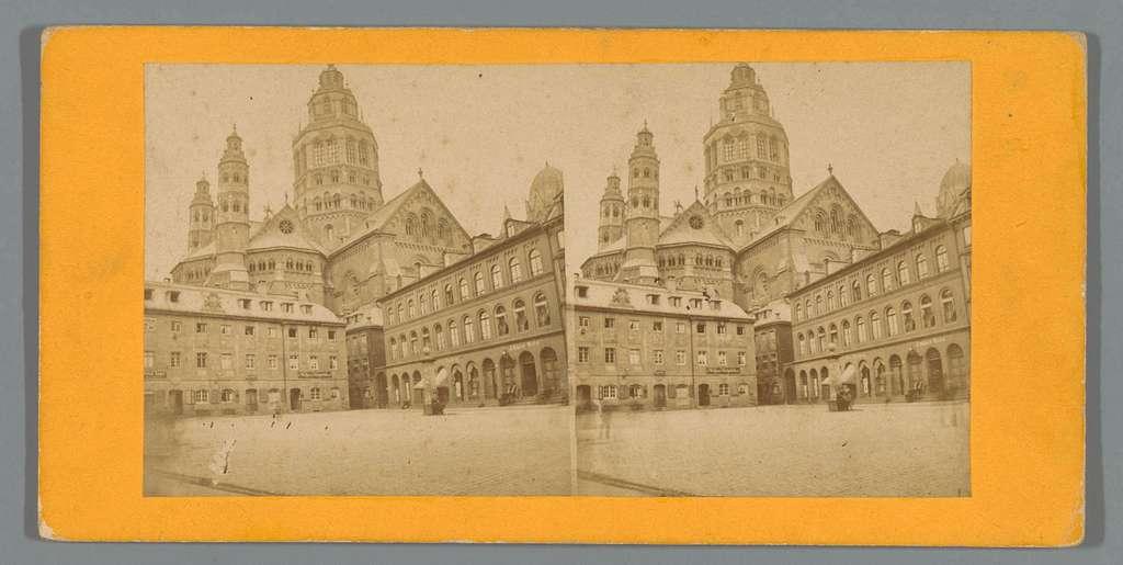 Exterieur van de Dom van Mainz