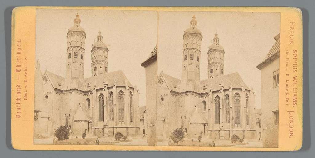 Exterieur van de Dom van Naumburg