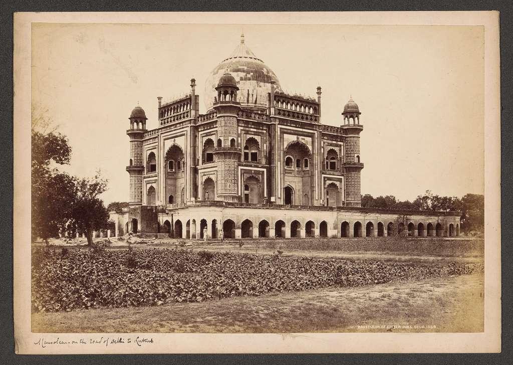 Mausoleum van Safdarjung in New Delhi