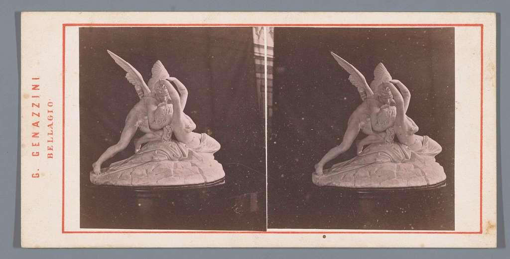 Sculptuur van Eros en Psyche door A. Tadolini