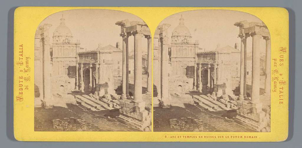 Boog van Septimius Severus op het Forum Romanum