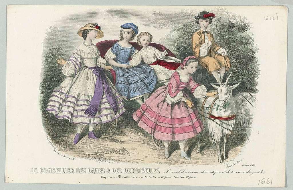 Le Conseiller des Dames et des Demoiselles, juillet 1861 : Journal d'économi (...)