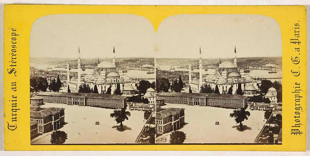 Süleymaniye-moskee in Istanboel