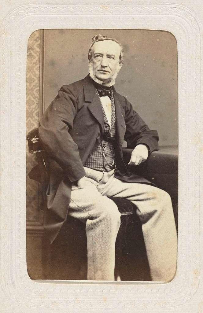 Portret van Albert van Geuns