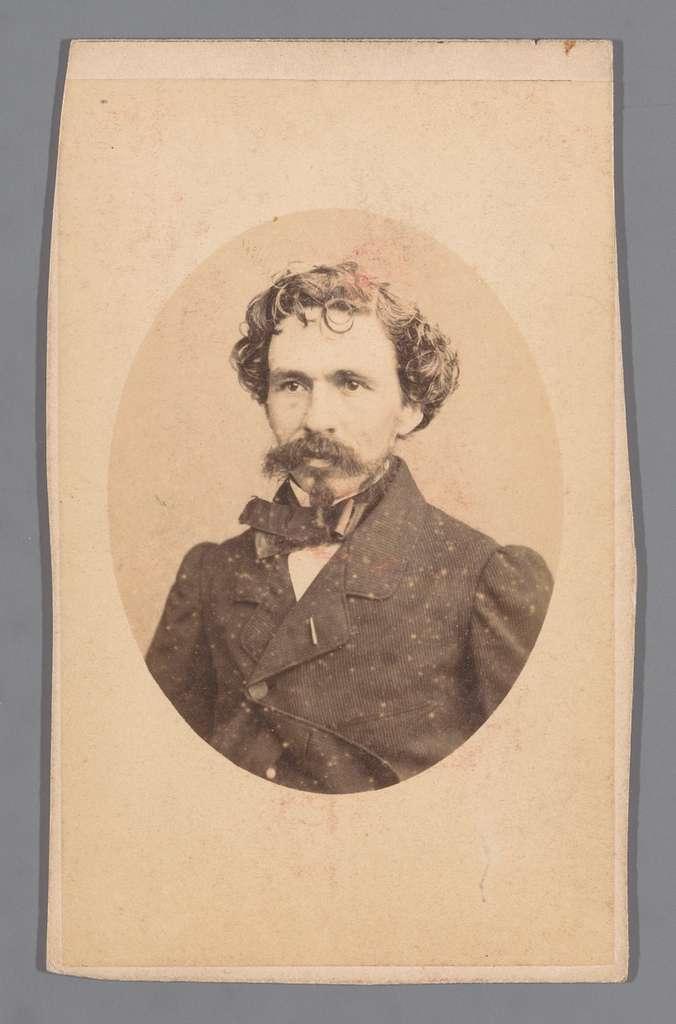 Portret van de schilder Joseph Henri-Hubert Lies