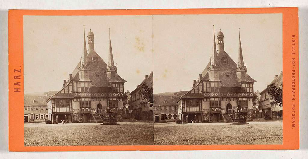 Het stadhuis van Wernigerode