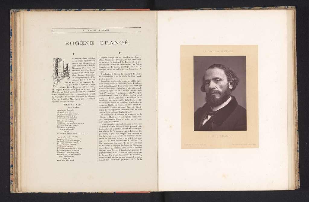 Portret van Eugène Grangé