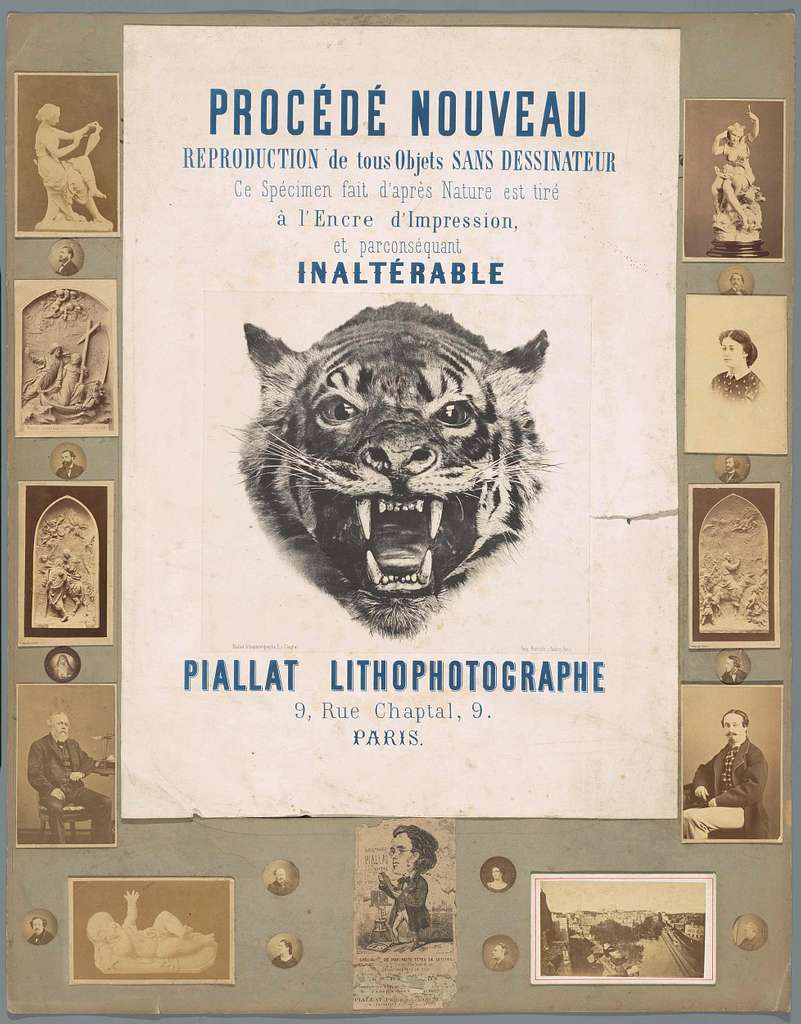 Affiche 'Procedé Nouveau'