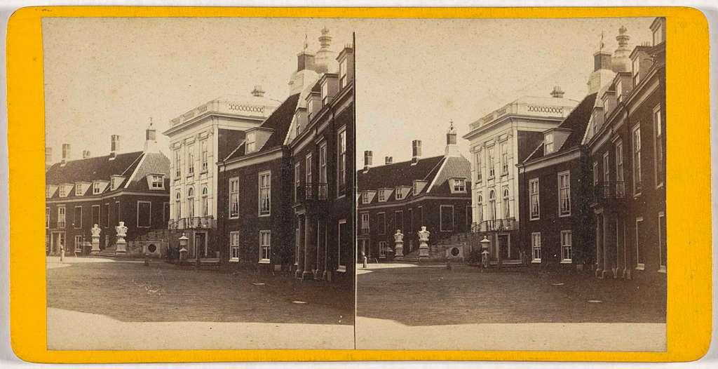 Gezicht op Paleis Huis ten Bosch in Den Haag