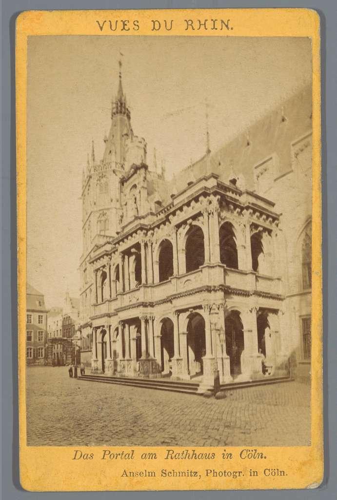 Exterieur van het stadhuis in Keulen