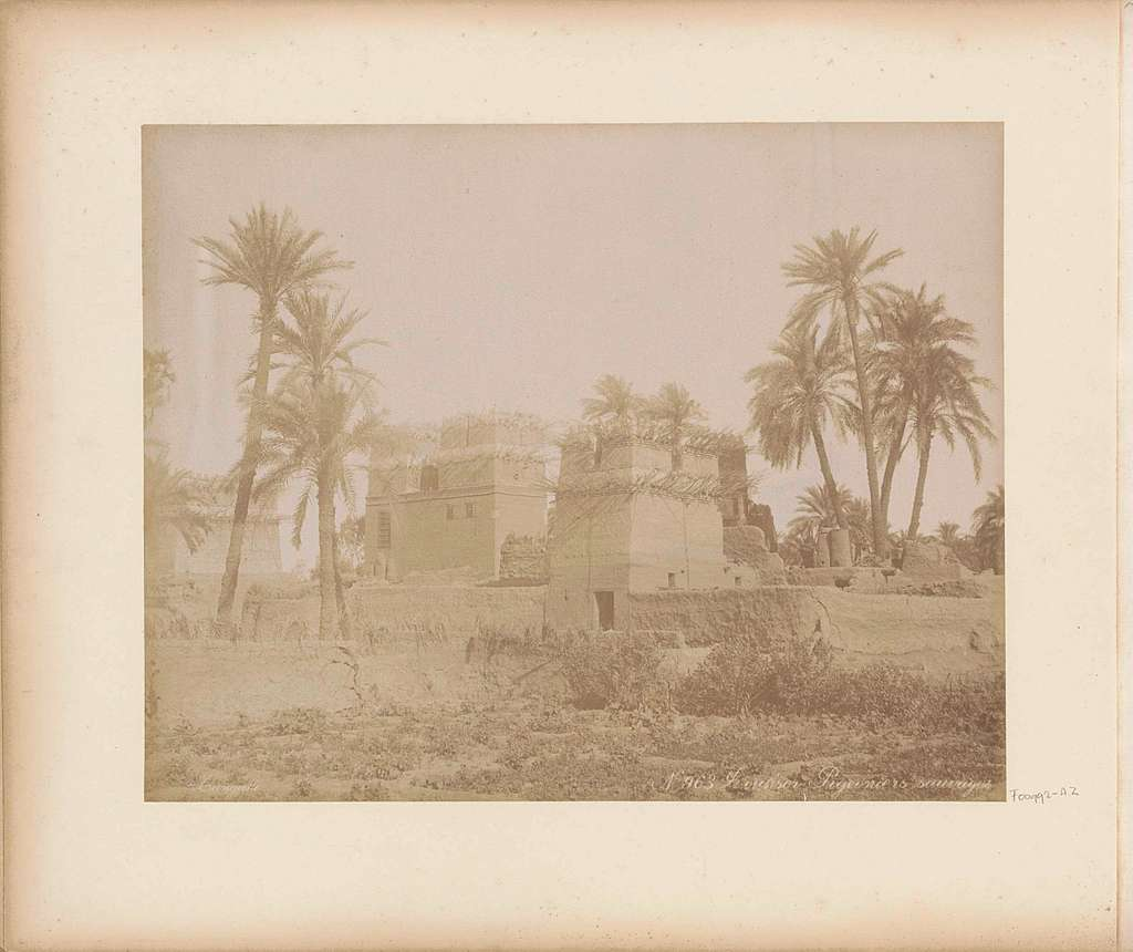 Duiventorens in Luxor