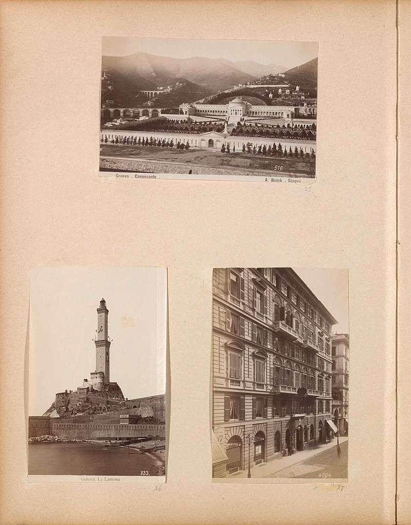 Vuurtoren in Genua