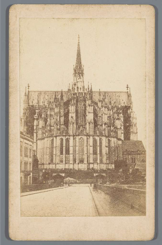 Exterieur van het koor van de Dom van Keulen