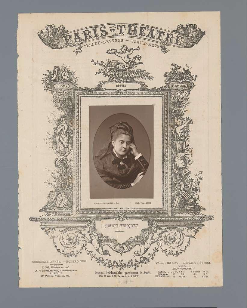 Portret van Jeanne Fouquet
