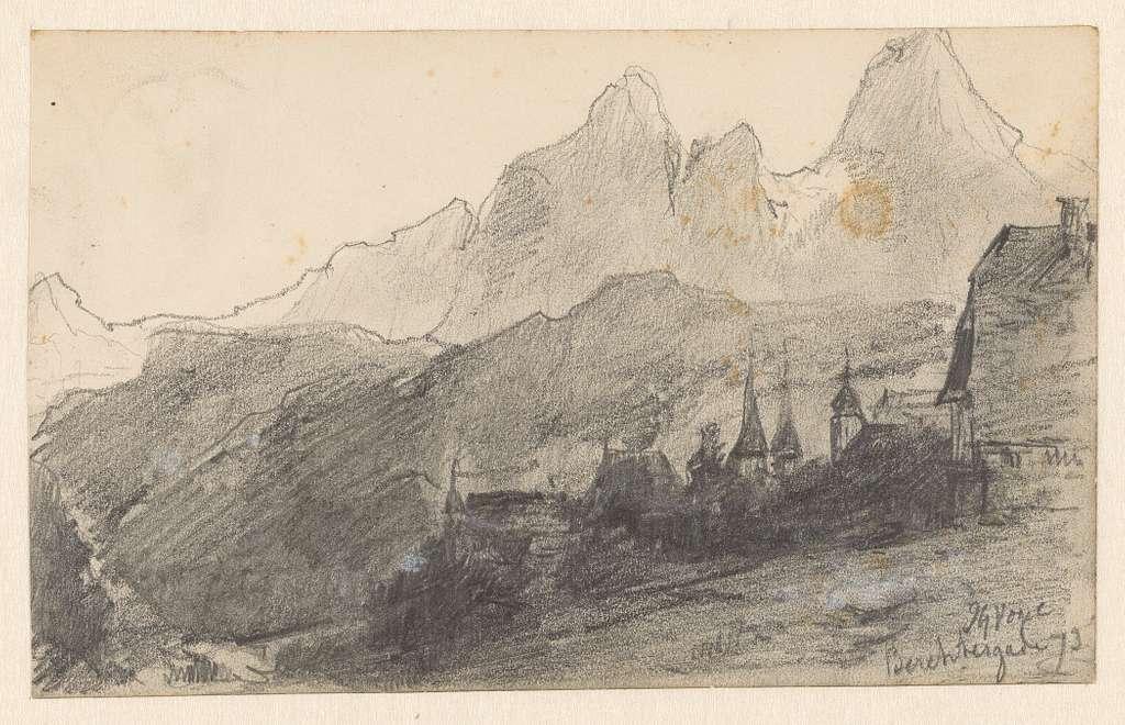 Berglandschap bij Berchtesgaden