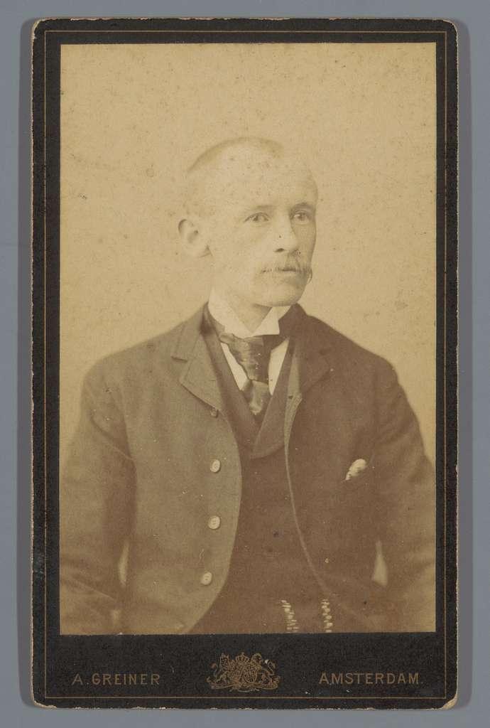 Portret van een onbekende man, aangeduid als de heer Jobben