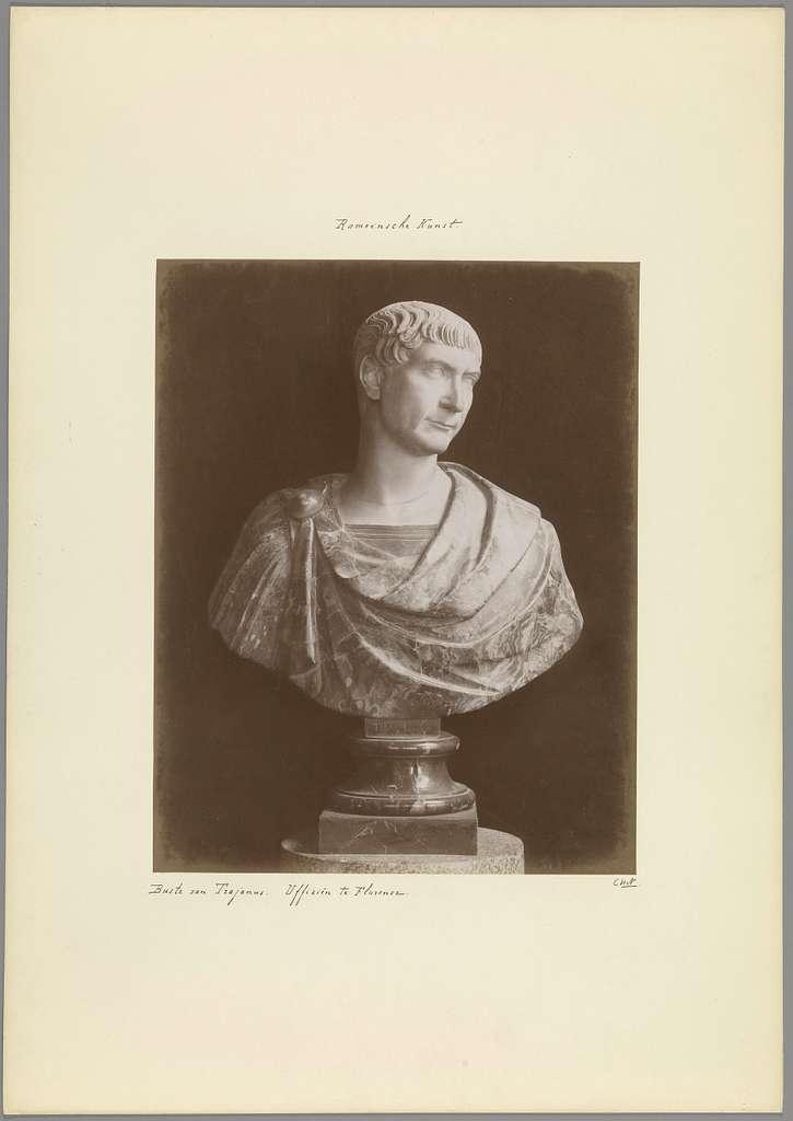 Buste van keizer Trajanus