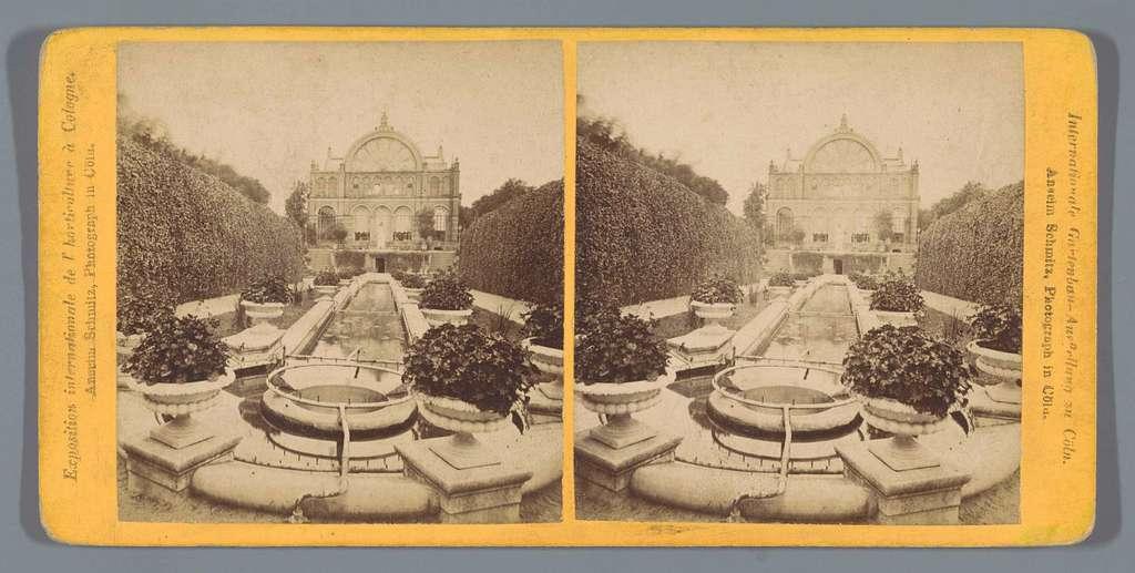 De Internationale Tuinbouwtentoonstelling in Keulen in 1875