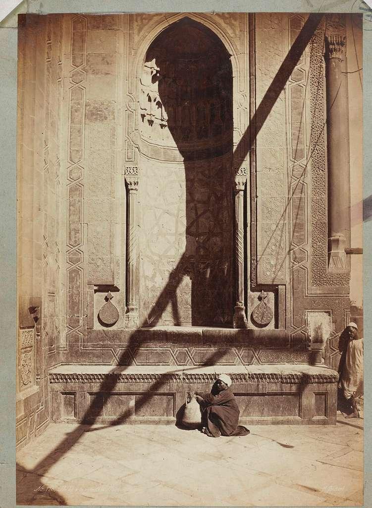 Nis in de Hasan-moskee te Cairo