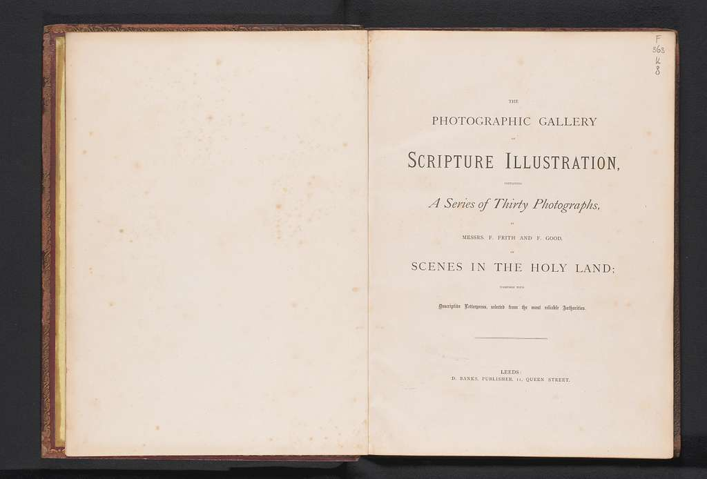 The photographic gallery of scripture illustration
