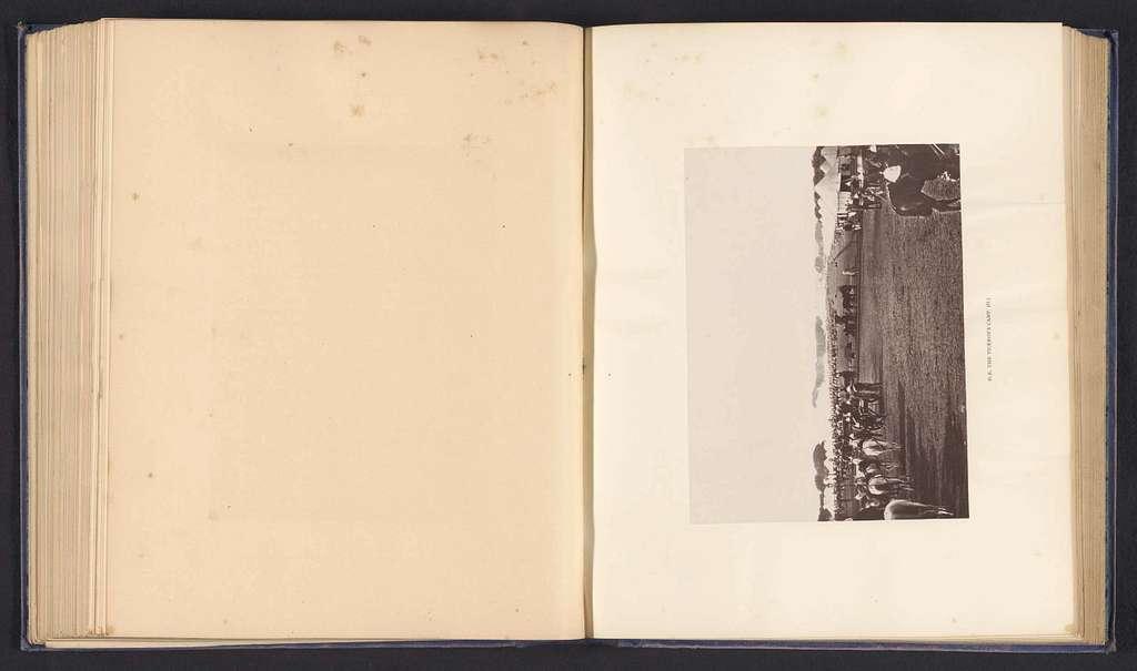 Legerkamp van vermoedelijk Robert Bulwer-Lytton in Delhi