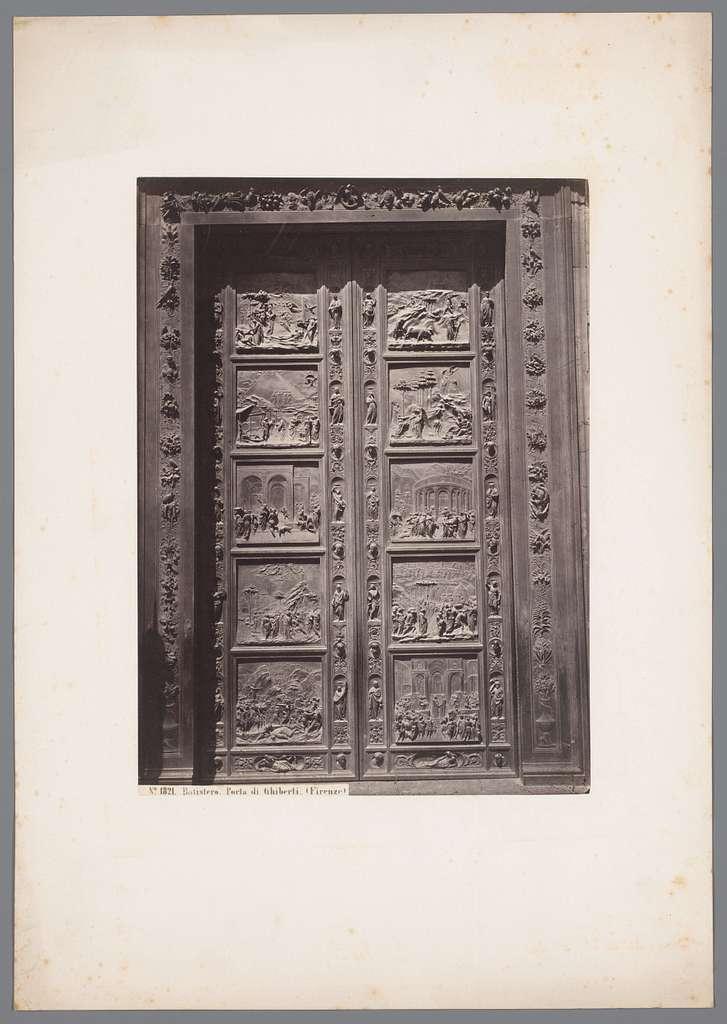 Batistero, Porta di Ghiberti