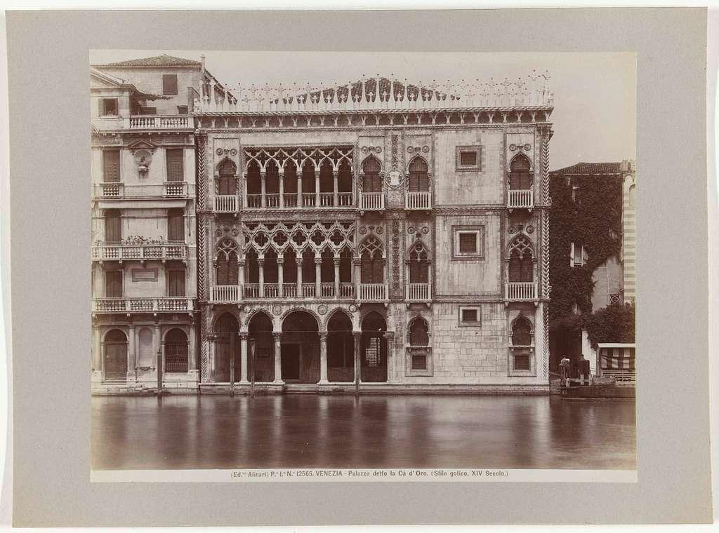 Cà d'Oro, Venetië