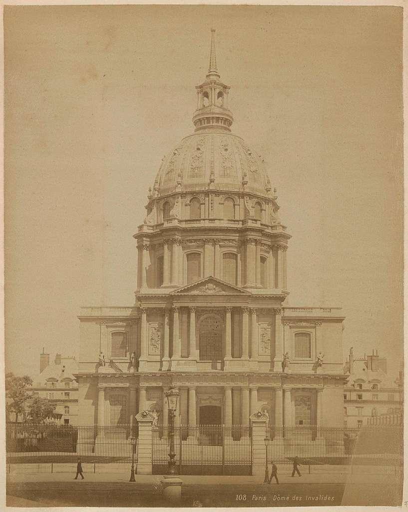 Exterieur van de Dôme des Invalides in Parijs