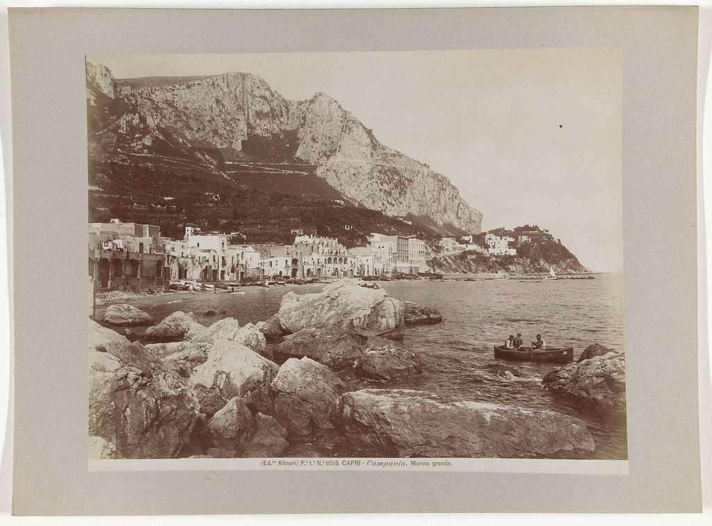 Gezicht op Capri