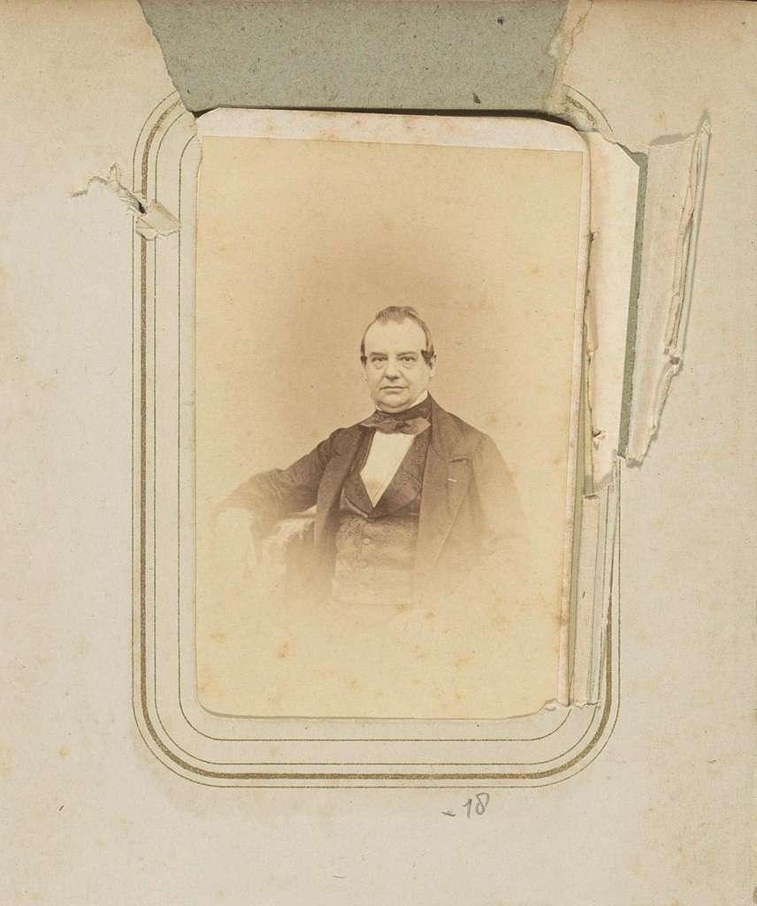 Portret van A.J. Swart