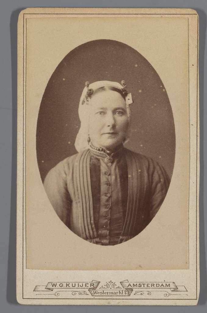 Portret van Betje van Ammers