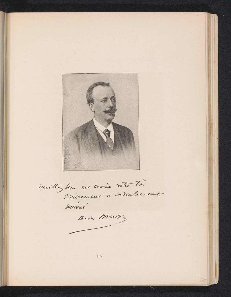 Portret van Albert de Mun