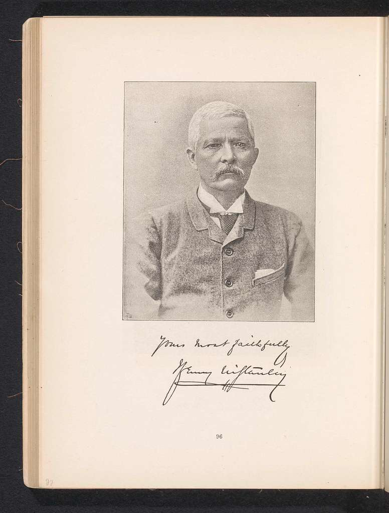 Portret van Henry Morton Stanley