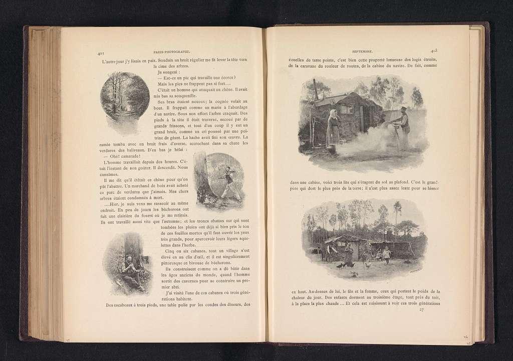 Twee scenes op een boerenerf