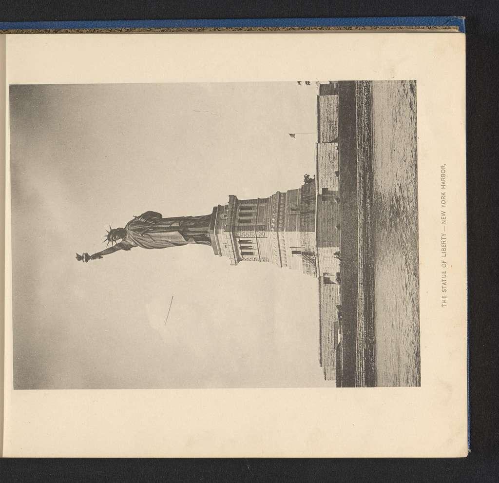 Gezicht op het Vrijheidsbeeld in New York