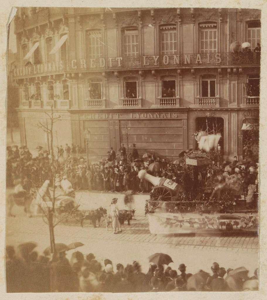 Optocht in Le Havre ter gelegenheid van Paasmaandag