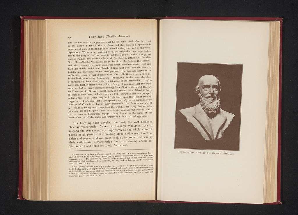 Buste van George Williams