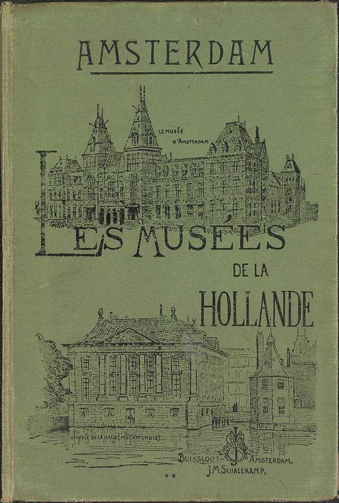 Leporelloalbum met fotoreproducties van schilderijen uit het Rijksmuseum