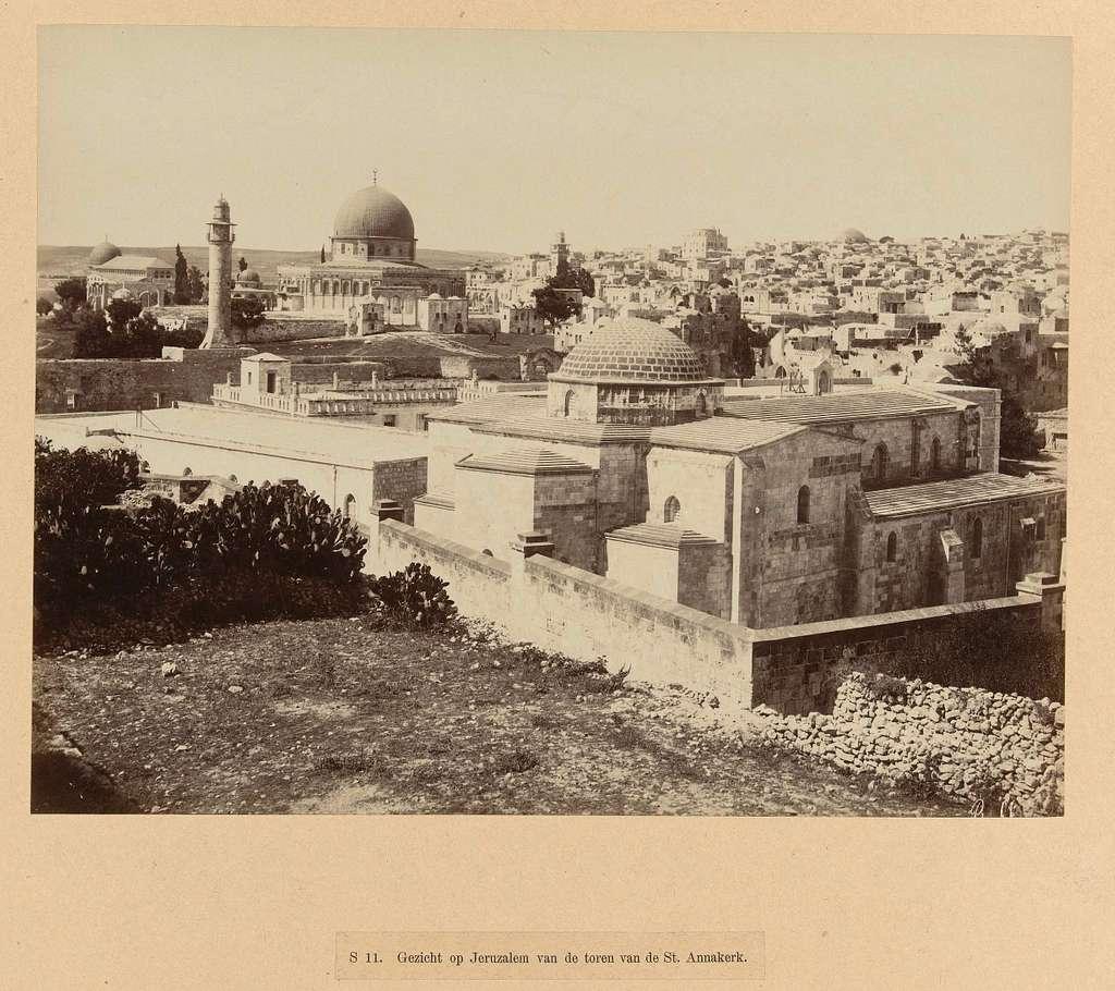 Gezicht op Jeruzalem
