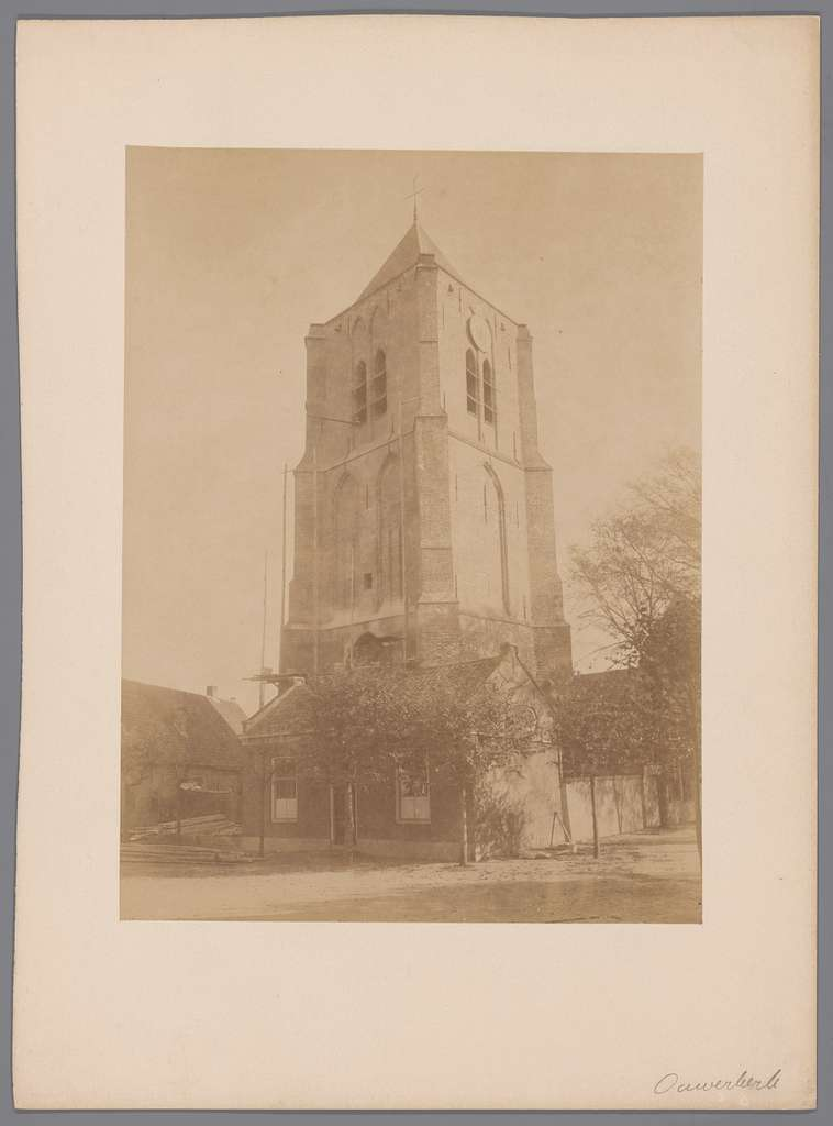 Kerktoren te Ouwerkerk