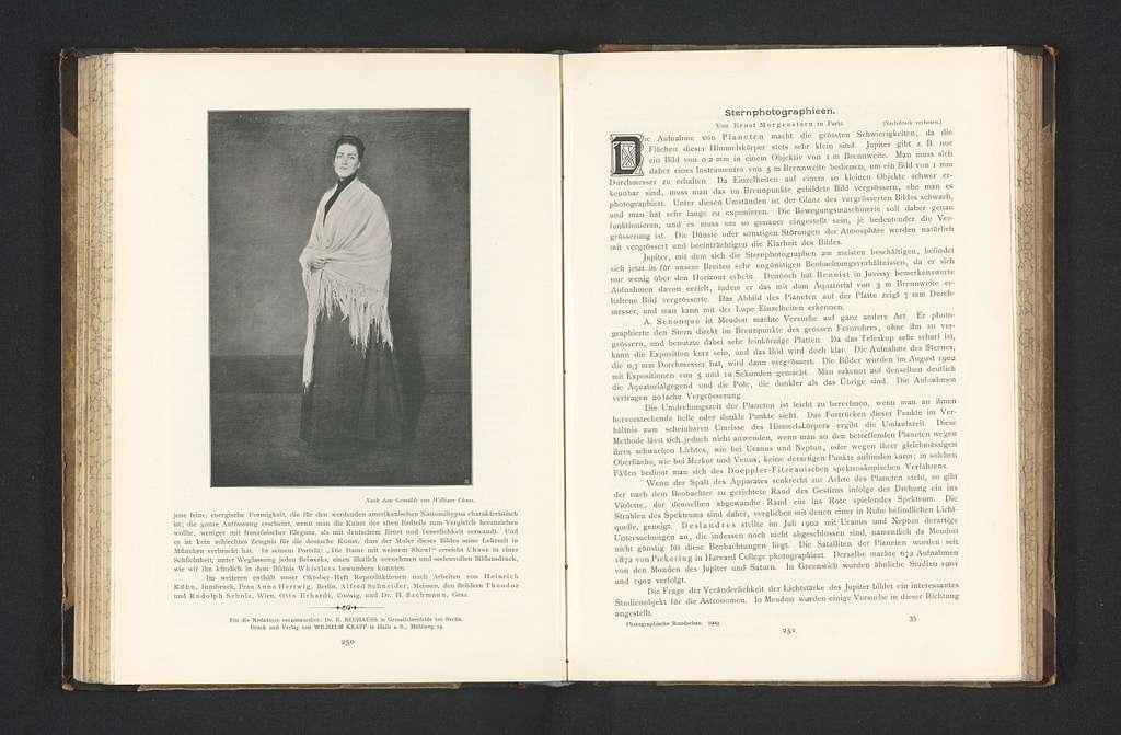 Reproductie van Portrait of Mrs. C door William Chase