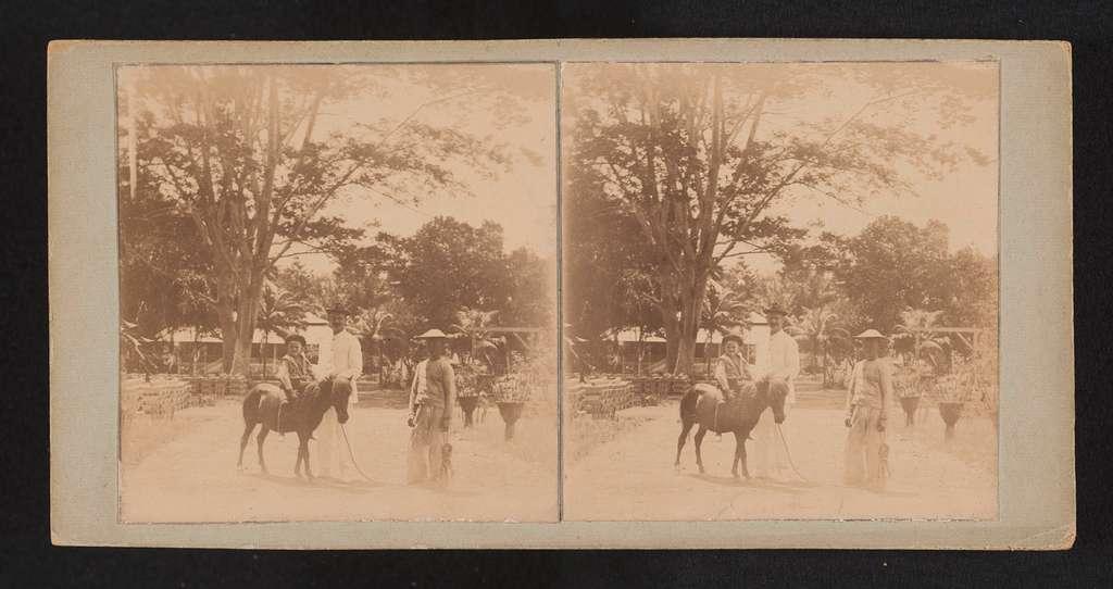 Jongen op paard
