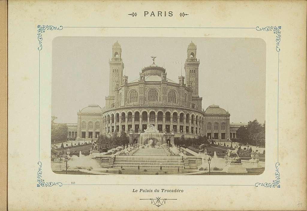 Palais du Trocadéro in Parijs